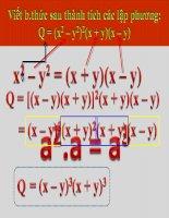 Hằng đẳng thức (2)
