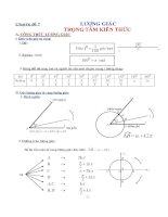 Chuyên đề ôn thi đại học môn toán   lượng giác