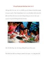 Bí quyết giúp gia đình bạn luôn vui vẻ