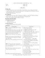 Giáo án hóa 9 học kì I
