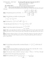Kỳ thi chọn HSG giải toán-lý-hoá-sinh trên MTCT                    LONG AN               Môn thi: Toán  Khối: 10 – GDTX