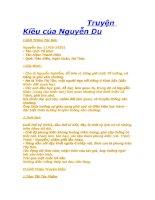 Truyện Kiều -Nguyễn Du
