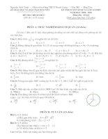 Đáp án toán 09-10 THPT Hưng Yên