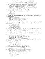đề ôn thi ngữ văn 9