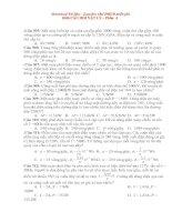 1000 câu hỏi trac nghiem VL ôn thi vào ĐHCĐ Phần 4.doc