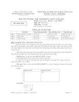 HỘI THI TIN HỌC TRẺ TỈNH ĐỒNG THÁP  NĂM 2012 Đề thi: Thực hành – Bảng C - cấp  THPT