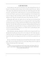 QUY LUẬT QUAN HỆ SẢN XUẤT PHÙ HỢP VỚI TÍNH CHẤT VÀ QUY LUẬT PHÁT TRIỂN CỦA LỰC LƯỢNG SẢN XUẤT VỚI CÔNG CUỘC ĐỔI MỚI KINH TẾ