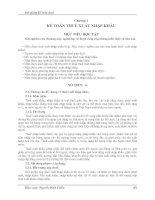 Bài giảng kế toán thuế   chương 2 kế TOÁN THUẾ XUẤT NHẬP KHẨU