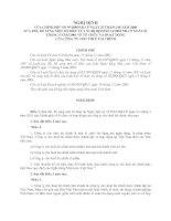 nghị định bổ sung công ty cho thuê tài chính