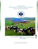 ứng dụng vi sinh vật trong sản xuất thức ăn gia súc