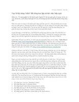 Top 10 kĩ năng mềm để sống và làm việc hiệu quả