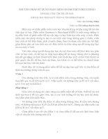 PHƯƠNG PHÁP SỬ DỤNG PHẦN MỀM GSP TRONG VIỆC ĐỊNH HƯỚNG HỌC SINH HÌNH THÀNH LỜI GIẢI CÁC BÀI TOÁN QUỶ TÍCH