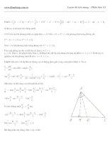 đáp án đề thi đại học- đề số 10đề thi môn toán