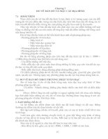 Chương 7 ĐO VẼ BẢN ĐỒ VÀ MẶT CẮT ĐỊA HÌNH 7.1 KHÁI NIỆM