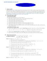 CHUYÊN đề KHẢO sát hàm số PHƯƠNG PHÁP LUYỆN tập KHẢO sát hàm số