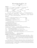 Đề thi HSg lớp 9 co đáp án 3