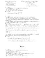 Đề+Đáp Án Toán Thi Vào 10 Thanh Hóa 09-10