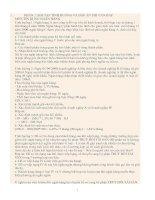 BÀI tập TÌNH HUỐNG và đáp án THI vấn đáp môn tín DỤNG NGÂN HÀNG