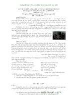 ĐỀ THI TUYỂN SINH VÀO LỚP 10 TRUNG HỌC PHỔ THÔNG MÔN VĂN NĂM HỌC 2013 CỦA SỞ GIÁO DỤC VÀ ĐÀO TẠO THÀNH PHỐ HỒ CHÍ MINH