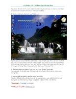 e*Calendar 5.0 - Lịch Block treo trên màn hình