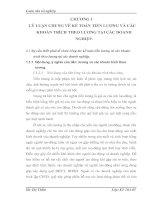MỘT SỐ Ý KIẾN VỀ CÔNG TÁC KẾ TOÁN TIỀN LƯƠNG VÀ CÁC KHOẢN TRÍCH THEO LƯƠNG TẠI CÔNG TY TNHH GE VIỆT NAM