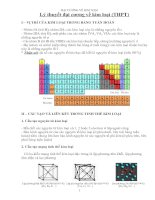 Lý thuyết và bài tập đại cương về kim loại
