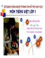 Bai giang Tieng Viet lop 1 bai 37