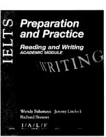 IELTS preparation and practice academic reading and writing academic module