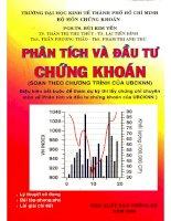 Giáo trình phân tích và đầu tư chứng khoán   pgs ts bùi kim yến