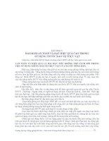 GIÁO TRÌNH sử DỤNG THUỐC bảo vệ THỰC vật PHẦN 5