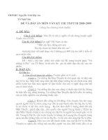 Đề tham khảo ôn thi TN12 Ngữ Văn (5)