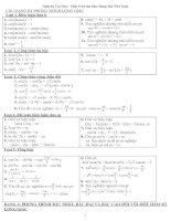 Phương pháp giải bài tập phương trình lượng giác
