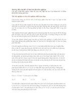 Hướng dẫn chi tiết làm bài thi trắc nghiệm ĐH