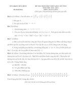 ĐỀ THI CHỌN HỌC SINH GIỎI CẤP TỈNH NĂM HỌC 2012-2013  MÔN TOÁN LỚP 9 – SỞ GIÁO DỤC VÀ ĐÀO TẠO HÒA BÌNH