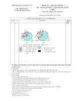Đáp án thi ĐH 2009 - 002. Tư liệu địa lí phổ thông