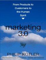 Marketing 3 0 PHILIP KOTLER