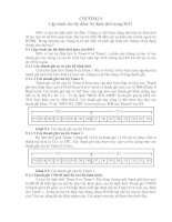 LÝ THUYẾT lập TRÌNH cơ bản (8051)  CHƯƠNG 9