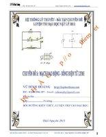 Chuyên đề 5: Mạch dao động - Sóng điện từ