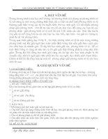 PHƯƠNG PHÁP GIẢI PHƯƠNG TRÌNH VÔ TỶ