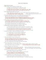 CHUYEN DE BT TRAC NGHIEM CAU ĐIỀU KIỆN VÀ MĐ GIẨ ĐINH WISH