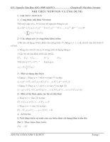 Các bài toán về nhị thức newton