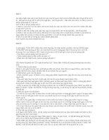Bài tập tham khảo môn pháp luật đại cương