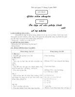 Giáo án thứ 6-Tuần 31-Lớp 4