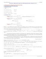 Luyện thi đh 2011  phương trình   bất phương trình   hệ phương trình vô tỷ