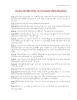 QUẢN Lí VÀ PHÁT TRIỂN TỔ CHỨC HÀNH CHÍNH NHÀ NƯỚC