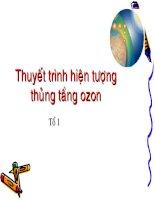 hien tuong thung tang ozon