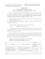 Biên bản kiểm phiếu đề xuất qui hoạch Hiệu trưởng- Hiêu phó
