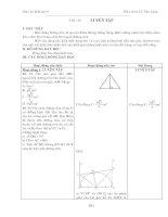 Giáo án lớp 9 hình học tiết 29-35