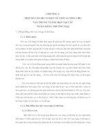 MỘT SỐ GIẢI PHÁP NÂNG CAO CHẤT LƯỢNG TÍN DỤNG TRUNG VÀ DÀI HẠN TẠI NGÂN HÀNG DONGA