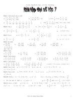 50 bài tập đại số lớp 7